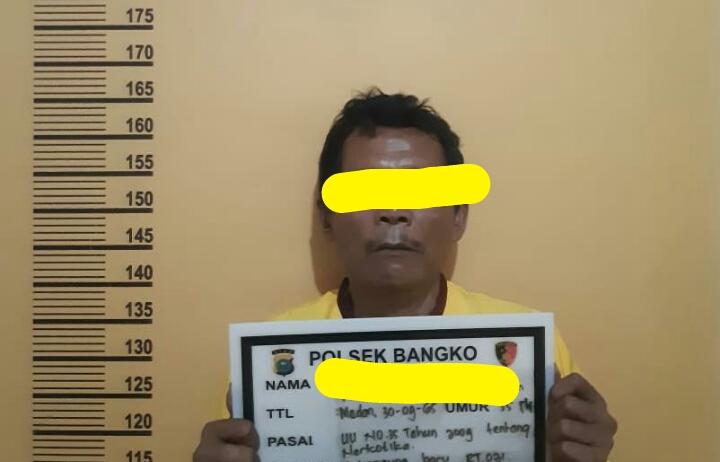 Unit Reskrim Polsek Bangko Kembali Amankan 5,10 Gram Narkotika Jenis Sabu