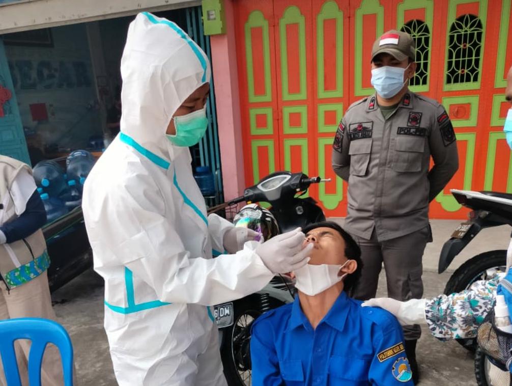 Polres Bengkalis Lakukan Operasi KRYD Gabungan dalam rangka Penegakan Disiplin Protokol Kesehatan