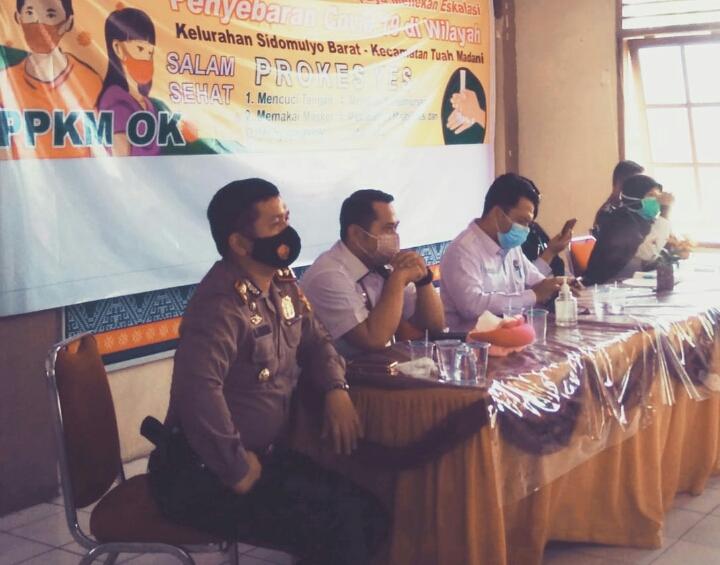 Kelurahan Sidomulyo Barat Deklarasi Menekan Eskalasi Penyebaran Covid-19