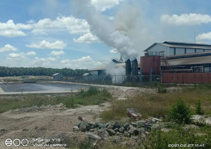 Masyarakat Desa Rimpian Surati DPRD Inhu Terkait Limbah PKS PT SSS