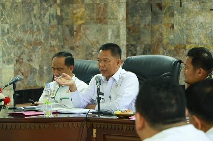 Dinas PUPR Laporkan Peta RTRW Terbaru ke Wali Kota Pekanbaru