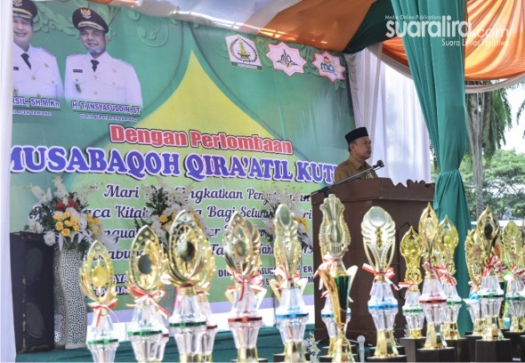 Bupati Aceh Tamiang, Buka Musabaqoh Qira'atil Kutub, Antar Santri Dayah