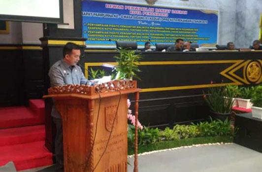 Zulfahmi Adrian Resmi Jabat Plt Sekwan