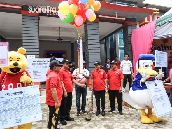 Launching CFD Sukses, Ratusan Masyarakat Ikut Ramaikan Hari Bebas Kenderaan Bermotor Di Tamiang