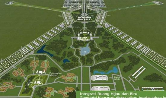 Pindah Ibu Kota Butuh Rp 485 Triliun