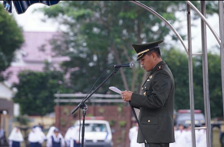 Dandim 0204/DS Menjadi Irup Pada PeringatanPeristiwa 13 Desember 1945, Dan Hari Bela Negara ke-71 di Tebingtinggi