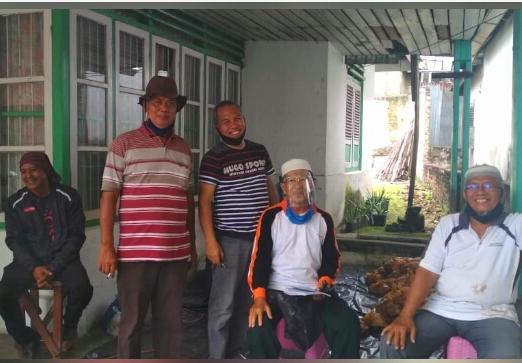 Perum PJA Marpoyan dan Masjid Al Hikmah Gelar Pemotongan Hewan Qurban