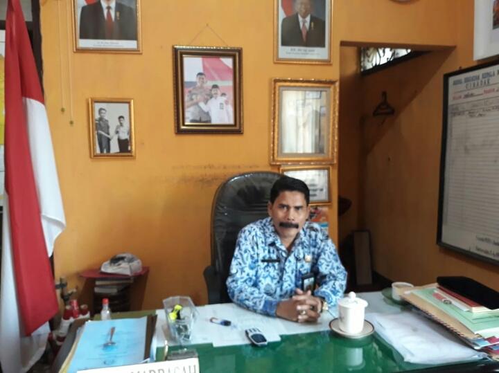 MAN 1 Cibadak Kabupaten Sukabumi Berharap Agar Di Bangun Sarana dan Prasarana Lalulintas Bagi Siswa