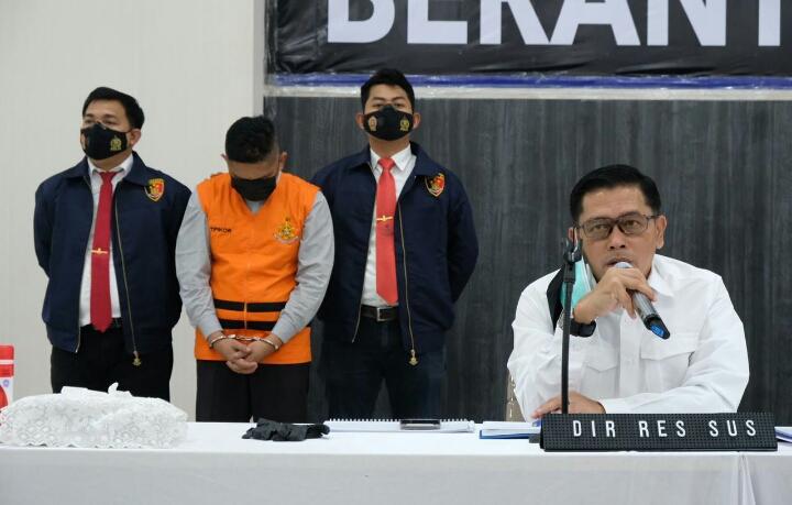 Tim Saber Pungli Polda Riau OTT Sekcam Binawidya