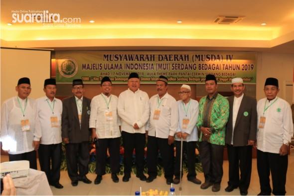 Bupati Sergai Hadiri Musda IV DP MUI Sergai tahun 2019 Periode 2019-2024