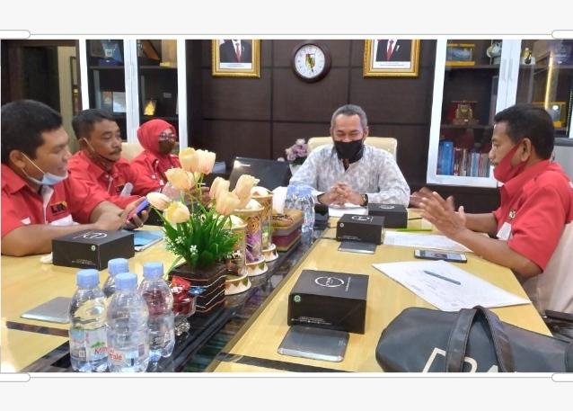 Konsolidasi dan Paparkan Program, LIRA Pekanbaru Audiensi ke Ketua DPRD