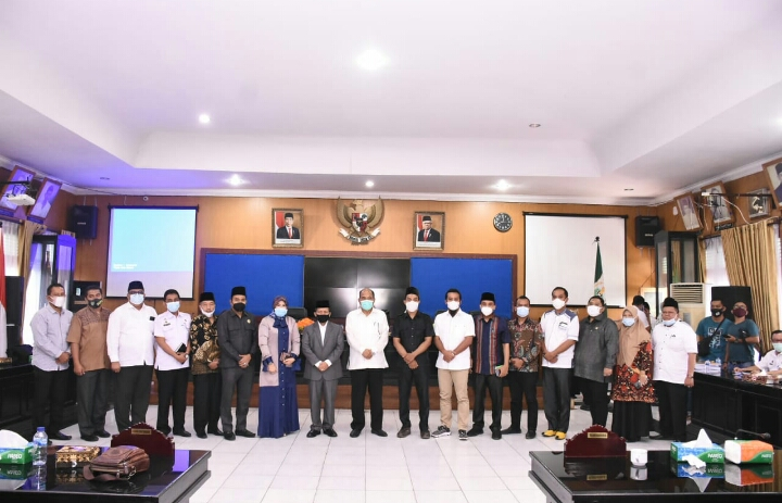 Rektor UINSU Bersama Walikota Bahas Tindak Lanjut Rencana Buka Cabang di Tebingtinggi
