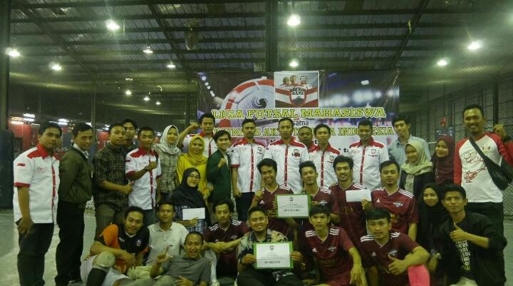 ITB Ahmad Dahlan Juarai LIGA FUTSAL Mahasiswa Bersama KAMI