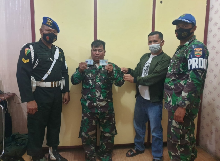 Oknum TNI Bawa Sajam Ternyata Gadungan di Amankan Polsek Bangko