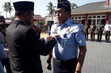 Wabup Aceh Tamiang Pimpin Apel Janji Kinerja Tahun 2020