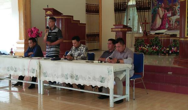 Bawaslu Nisut Sosialisasikan pemilu Kepada Pemilih Pemula Agar Partisipatif