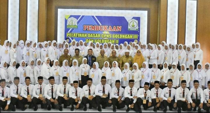 Wabup Aceh Tamiang Buka LATSAR CPNS Gol III Dan II, Formasi Umum Tahun 2018