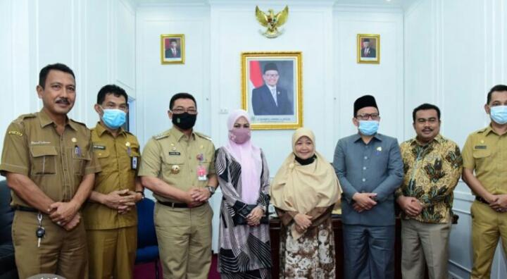 Pj Bupati bengkalis Silaturahmi ke DPRD