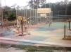 Pasang Spanduk, Masyarakat Protes Pembangunan Lapangan Voly Desa Bukit Petaling