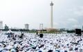 Opick : Jutaan Umat Datang ke Monas karena Cinta