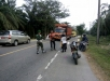 Berlangsung Sigap Terlihat, Para Personil Kodim 0117/Atam Bantu Warga Korban Kecelakaan