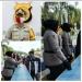 Polwan Resor Aceh Tamiang Gantikan Petugas Jaga Pos Covid-19, Ketika Ba'da Sholat Jum'at