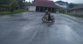 Sepinya Bus Masuk, Atlit Road Race Manfaatkan Terminal Untuk Latihan