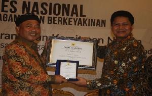 Walikota Bekasi, Rahmat Effendi Dapat Penghargaan Dari Komnas Ham